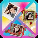 Photo collage frames icon
