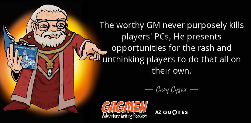 Cita de Gary Gygax, by Gagmen
