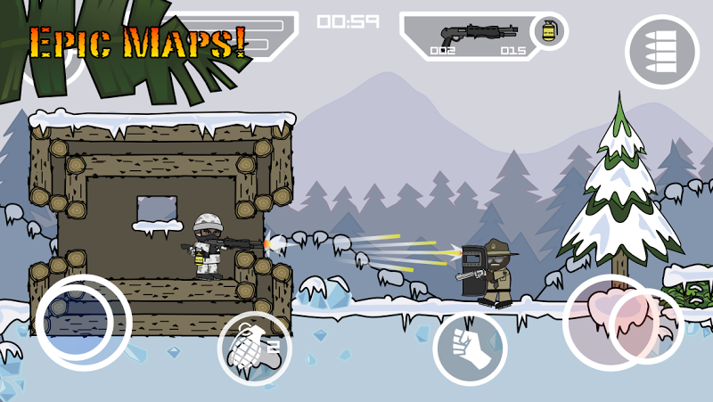 Mini Militia - Doodle Army 2 Screenshot 3
