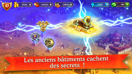 Cradle of Empires Match-3 Game  captures d'écran 4