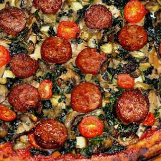 Sausage Pizza (Kosher)