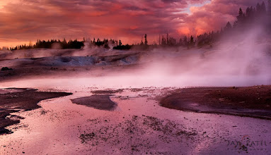 Photo: Pastel Palette, Yellowstone National Park, WY