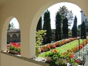 Photo: Friedhof von Kloster Heiligenkreuz bei CHAM...