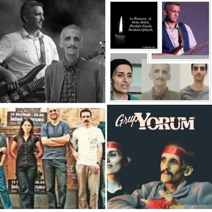 متاسفانه ابراهیم گوگچک سومین اعضای گروپ یوروم  هم پس از سیصدوبیست سه روز اعتصاب غذا در زندان ترکیه در آخرین روز پس از شکستن اعتصاب غذا در صورت وعدهایی برای آزادی و مجوز اجرای کنسرت، در بیمارستان  ترکیه جان خود را از دست داد!  سه عضو اصلی گروپ یوروم پس از اعتصاب غذای طولانی مدت در زندان رژیم فاشیستی اردوغان جان خود را از دست دادن ! و کسی به فریادشان نرسید! #مرگ_برستمگران_زمان  #شرم_بر_جنایتکاران_زمان #یوروم #یوروم_گروپ #ترکیه #موسیقی_اعتراضی #موسیقی #خردوقان .#سیاستمداران #روحانیون #انگل_اجتماع #ویروس #جنگ #قحطی #ادیان #خرافات  #هنر #فلسفه #صدای_بیصدایان #زندانی_سیاسی #اعتصاب #مرگ_بردیکتاتور ##هواپیما_اوکراینی  #صدای_آبان۹۸ #تظاهرات_سراسری  #اعتراضات_سراسری  #ایران #groupyorum