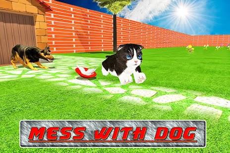 Crazy Pet Cat Madness 3D screenshot