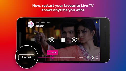 Tata Sky Mobile- Live TV, Movies, Sports, Recharge screenshots 5