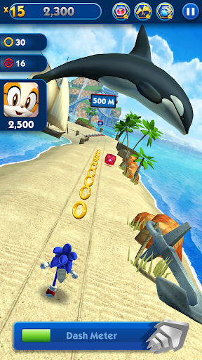 Sonic Dash - Endless Running & Racing Game  screenshots 2