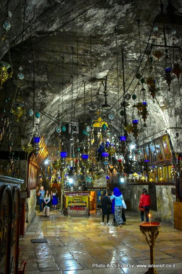 Гробница Богородицы, церковь Успения Богородицы в Иерусалиме.