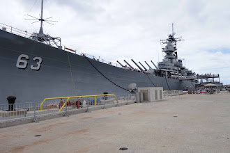 Photo: USS Battleship Missouri, I was so glad to visit and see where the Japanese surrender docs were signed and walk where Gen. MacArthur walked.