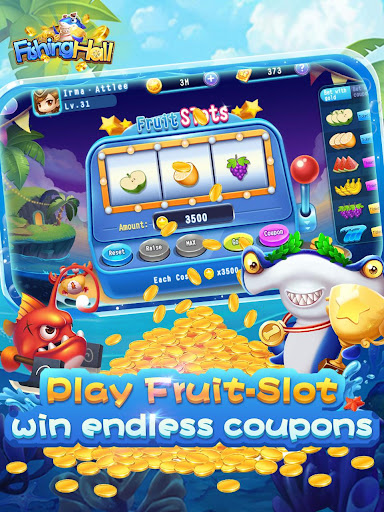 Fishing Hall-Free Slots,Poker,Fishing Saga 1.0.6 screenshots 5
