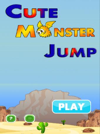 Cute Monster Jump