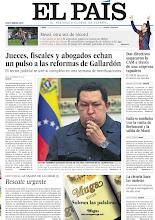 Photo: Jueces, fiscales y abogados echan un pulso a las reformas de Gallardón, dos directivos saquearon la CAM a través de una empresa tapadera, Italia se tambalea tras la vuelta de Berlusconi y la salida de Monti, Chávez nombra sucesor antes de volver a entrar en el quirófano y el editorial 'Rescate urgente', entre los titulares de nuestra portada del 10 de diciembre de 2012. http://srv00.epimg.net/pdf/elpais/1aPagina/2012/12/ep-20121210.pdf