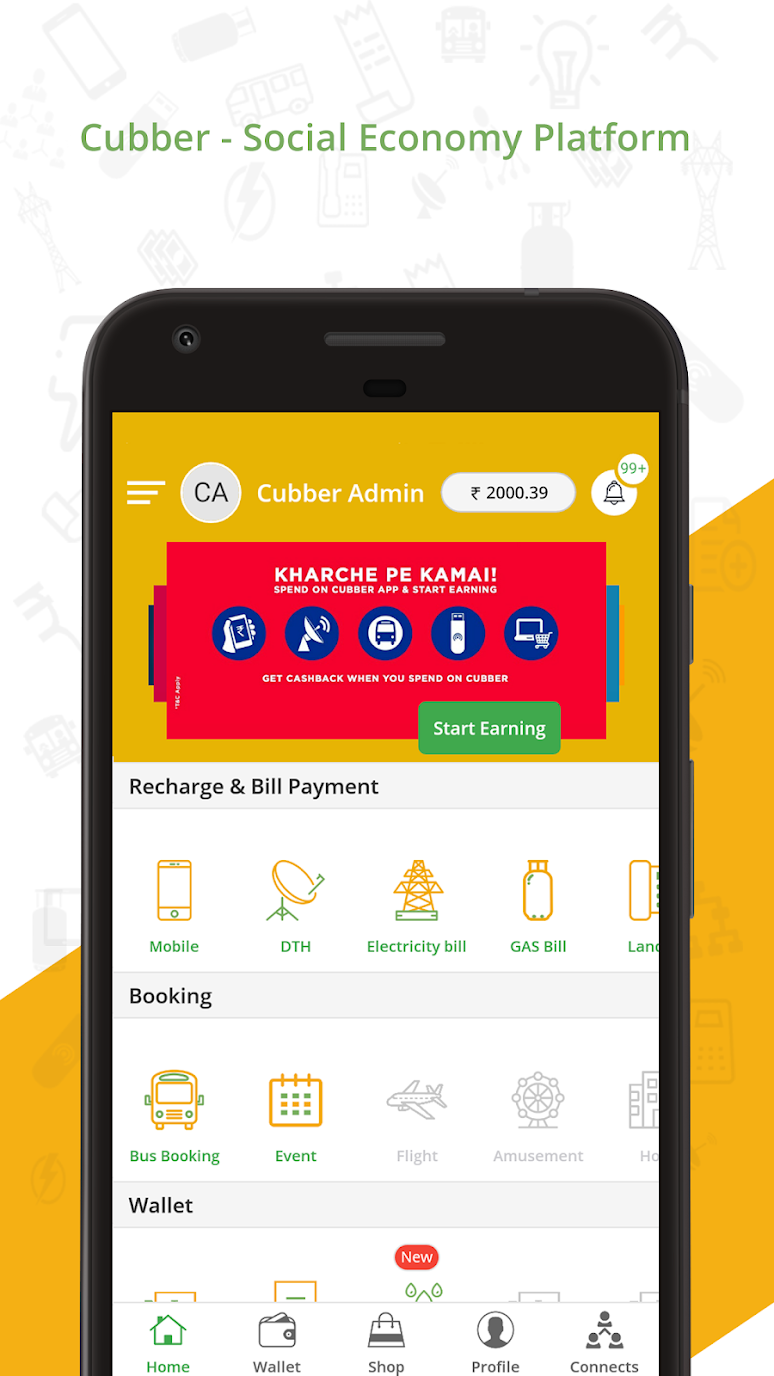 Cubber – Recharge, Payment, Refer & Earn Cashback Premium (Cracked) 1