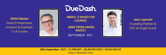 Nikhil's Investor Lounge: Jens from Angel Invest