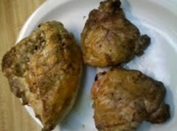 Barbecued Brined Chicken Recipe