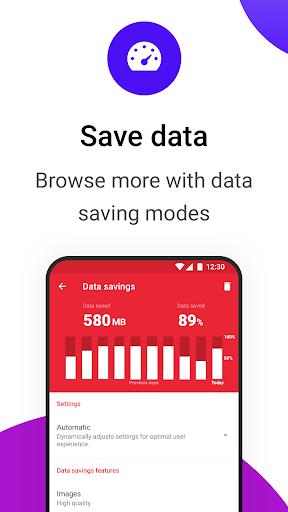 Opera Mini browser beta screenshot 6