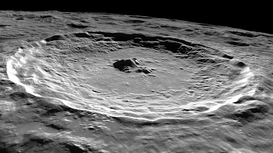 Photo: Tycho crater.