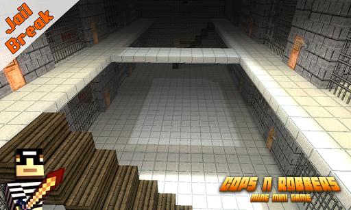 Télécharger Gratuit Cops N Robbers: Pixel Prison Games 1 APK MOD (Astuce) screenshots 1