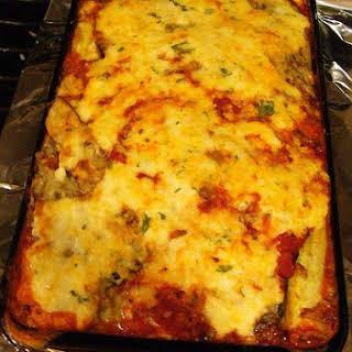 Cheese Lasagna.