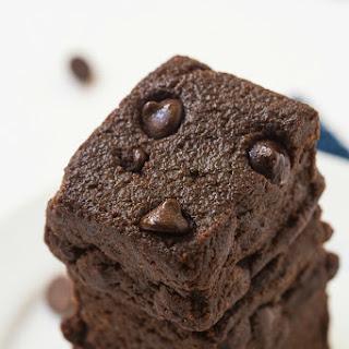 Healthy 4 Ingredient No Bake Brownies.