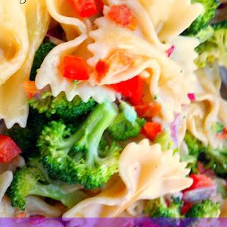 Pepper and Broccoli Pasta Salad