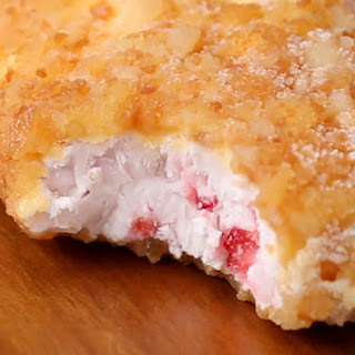 1. Fried Strawberry Shortcake Pops