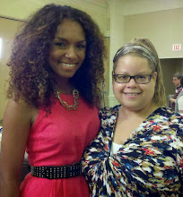 Photo: With Janet Mock, 2011, at Point Foundation Conference.