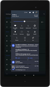 Slated MTRL - Blue CM12 Theme v1.8