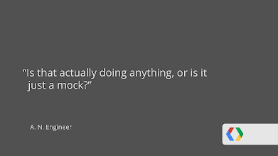 Photo: An app is sufficiently advanced enough to appear magical when an engineer asks you if it's actually doing anything, or if it's just a mock.