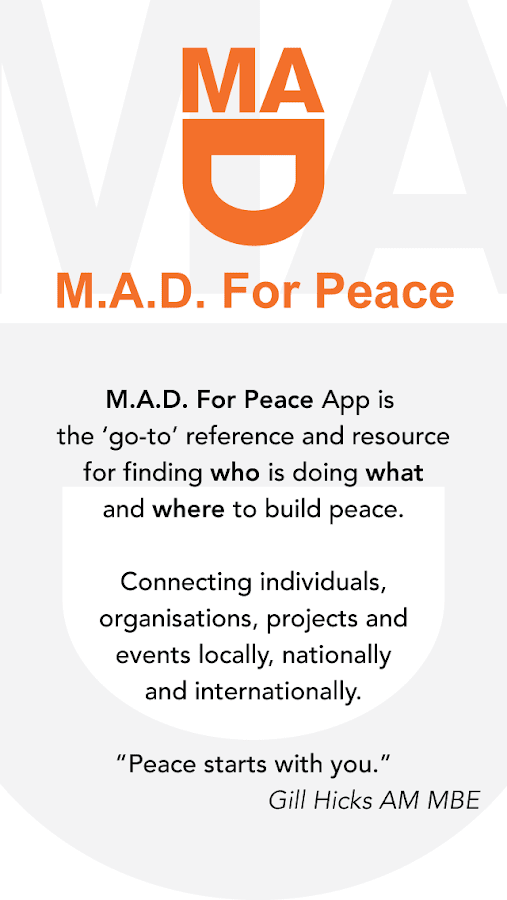 M.A.D. For Peace- screenshot
