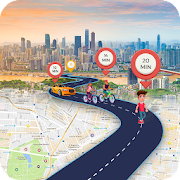 GPS Route Finder - Live Street View , Earth Map
