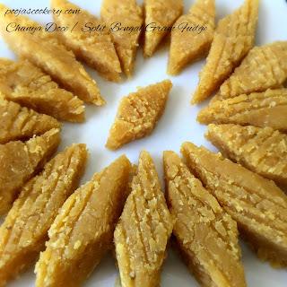 Chanya Doce / Split Bengal Gram Fudge