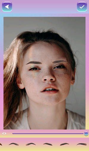 Eyebrow Shaping Photo Editor 1.5 screenshots 7