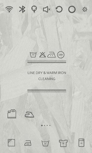 Washing Life Fabric Theme