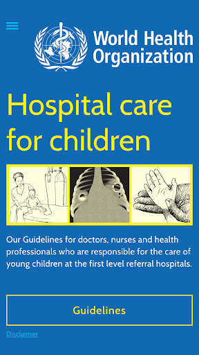 WHO Hospital Care for Children