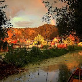 Dal Lake - Kashmir - India  by Sourav Tripathi - Landscapes Travel