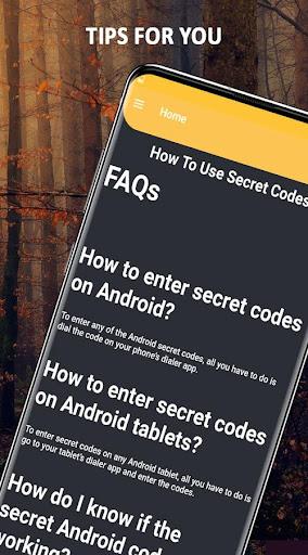All Mobile Secret Codes screenshot 3