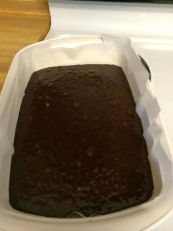 Sprinkle flour mixture over the top of the chocolate mixture. Fold it in (with...