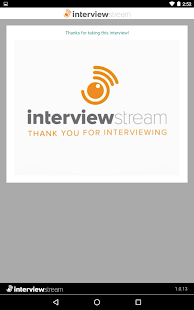 InterviewStream Thrive- screenshot thumbnail
