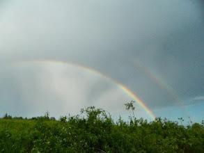 Photo: Двойная радуга.
