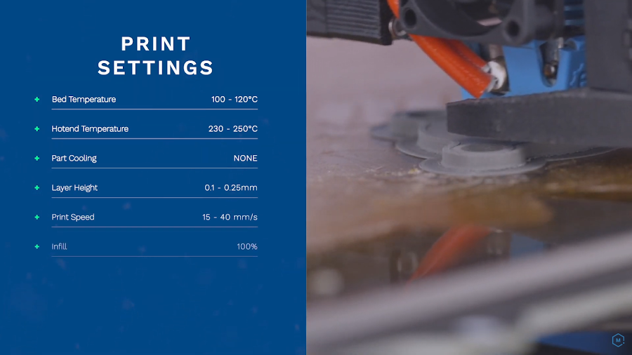 Follow these print settings and adjust accordingly for a successful metal 3D printing experience with BASF's Ultrafuse 316L filament.