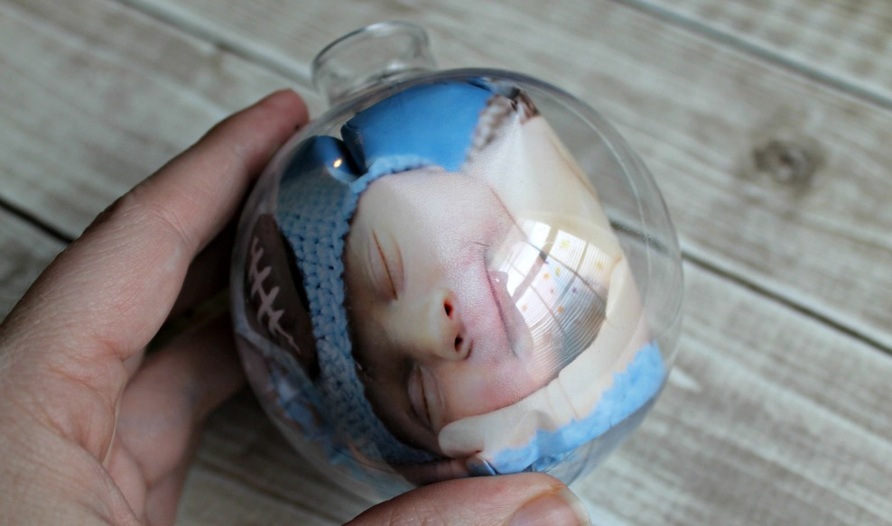 DIY Baby's First Christmas ornament tutorial