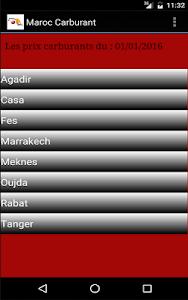 Maroc Carburant: prix & tarifs screenshot 3