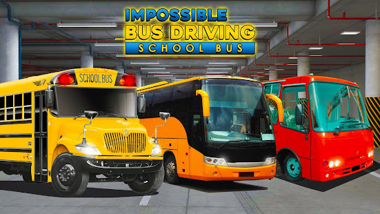 Download Impossible Bus Driving : School Bus Simulator For PC Windows and Mac apk screenshot 3