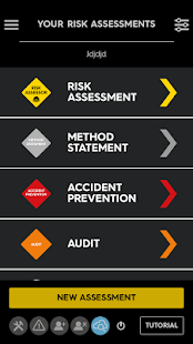 Risk Assessor - náhled