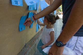 Photo: Una vecinita de Tetúan quiere que el agua sea 100% pública.