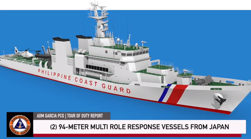 Philippine Coast Guard Getting 2 New 94 Meters Patrol Ships from Mitsubishi Japan