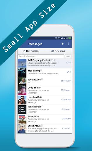 Download mini for Facebook Lite Google Play softwares
