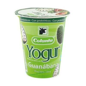 Yogurt Colanta Entero   Salsa De Guanábana X200G.