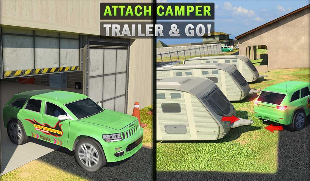 Camper Van Truck Simulator Cruiser Car Trailer 3d Android Apps On Google Play